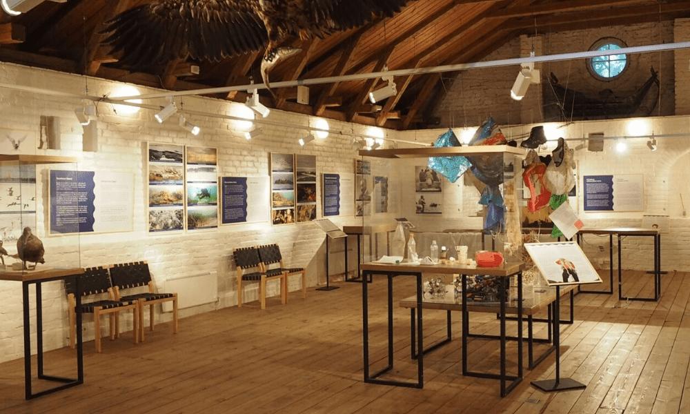 Hangon museo sisältä. Kuva: Kulttuuri – Visithanko